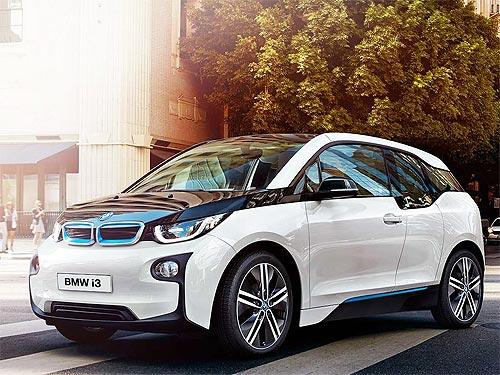 Летом электромобили BMW i3 можно приобрести по специальной цене