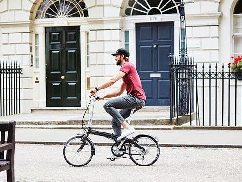 MINI представил фирменные складные велосипеды - MINI