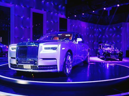 В Украине презентовали новый Rolls-Royce Phantom