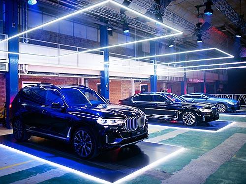 Добро пожаловать в Luxury: BMW представила в Украине сразу 4 новые модели