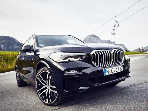 BMW представила новый гибрид BMW X5 с расходом топлива менее 2 л/100 км