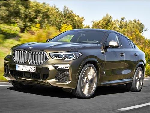 Официальные подробности о новом BMW THE X6