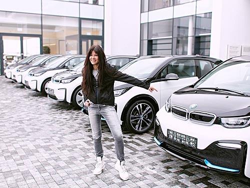 Руслана Лыжичко будет популяризировать электрические BMW в Украине