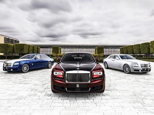 Rolls-Royce выпустит коллекционный Ghost Zenith