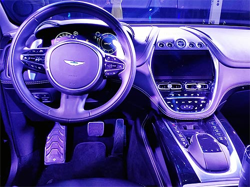 В Украине проданы первые кроссоверы Aston Martin DBX - Aston Martin
