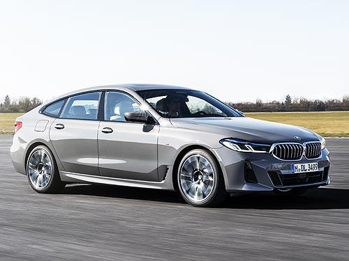 BMW представляет новый BMW 6 серии GT