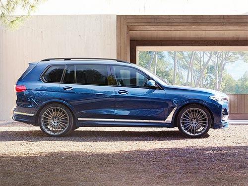 Выпущен первый в мире BMW ALPINA XB7 - BMW