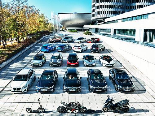 BMW Group с начала 2021 года демонстрирует лучшие продажи за всю историю