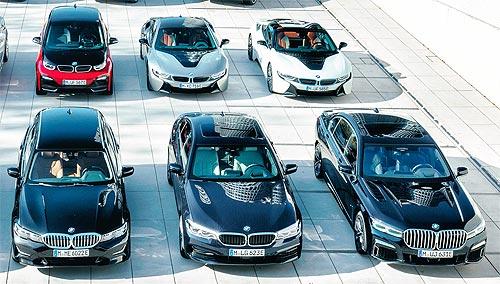 Как BMW будет расширять модельный ряд гибридов и электромобилей - BMW