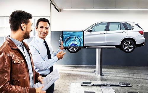Для владельцев BMW X5 действуют специальные сервисные предложения