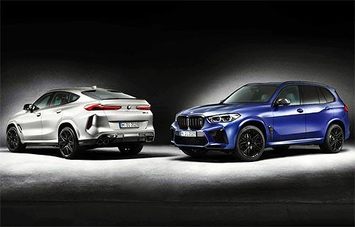 В Украине появятся эксклюзивные серии First Edition моделей BMW X5 M и BMW X6 M