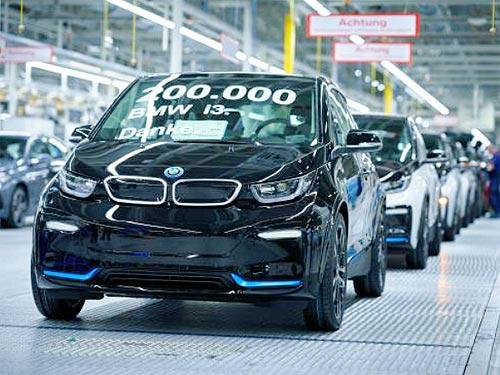 Выпущен 200-тысячный BMW i3