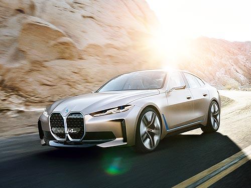 Завод BMW Group в Мюнхене начинает выпуск электрического BMW i4