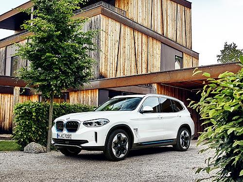 Стали известны подробности о новом электрокроссовере BMW iX3