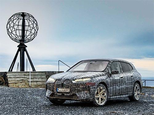 BMW iX проходит финальные зимние испытания