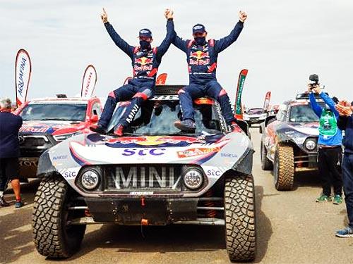 MINI второй раз подряд выиграл Дакар