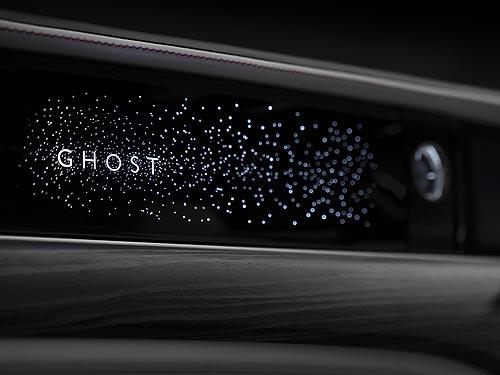 Для нового Rolls-Royce Ghost разработали уникальную панель с иллюминацией