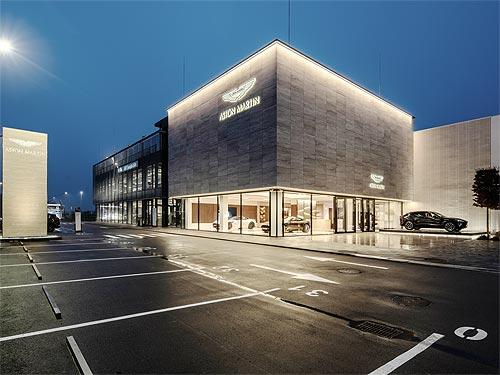 В Украине открылся новый дилерский центр Aston Martin