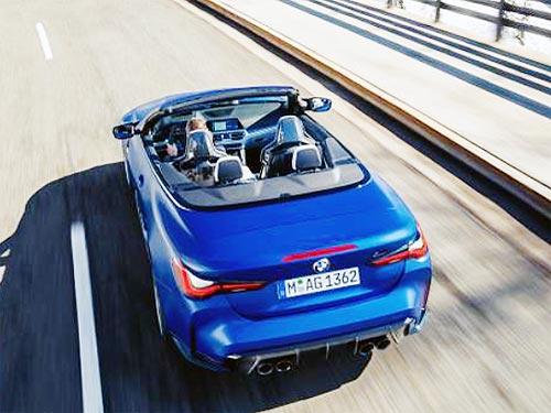 Каким будет новый кабриолет BMW M4 - BMW