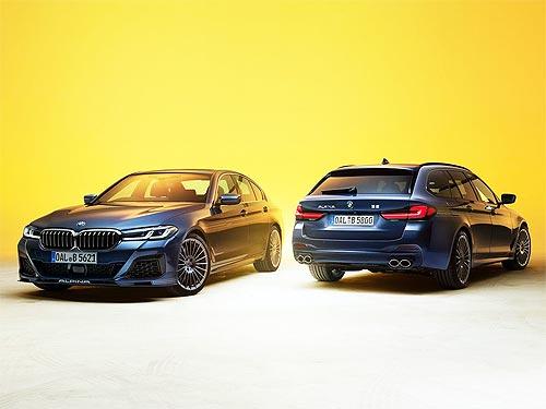 BMW ALPINA B5 обновилась. Фото