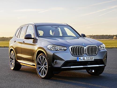 В Украине стартуют продажи обновленных BMW X3 и BMW X4 - BMW