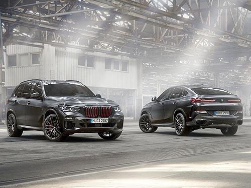 У BMW X5 и BMW X6 появилась лимитированная серия Black Vermilion