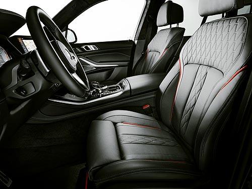 У BMW X5 и BMW X6 появилась лимитированная серия Black Vermilion - BMW