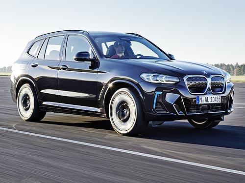 Объявлены украинские цены на новый электромобиль BMW iX3
