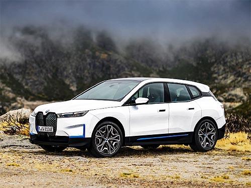 BMW представил новый электрический кроссовер BMW iX. Подробности