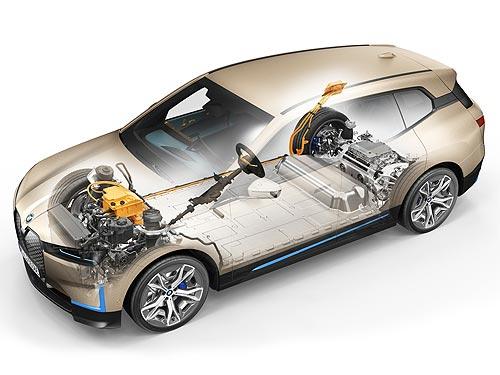 В Украине стартовали предпродажи нового полностью электрического BMW iX. Поставки уже до конца года - BMW