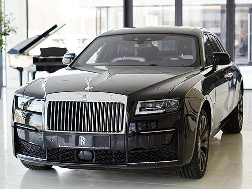 В Украину прибыл новый Rolls-Royce Ghost