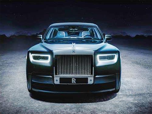 Rolls-Royce выпустит «космическую» линейку на базе Phantom - Rolls-Royce