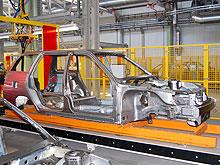 В августе в Украине полностью остановилось производство легковых автомобилей