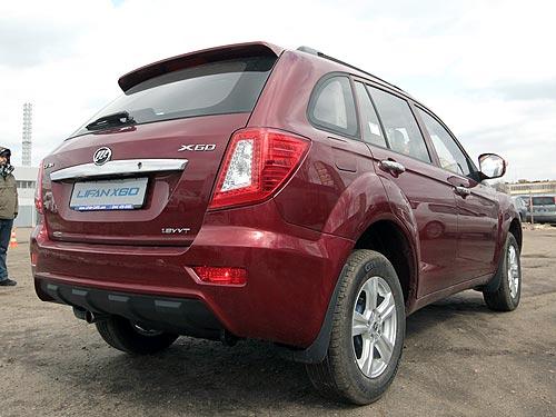 Кроссовер Lifan X60 предлагается по специальной цене 125 000 грн. - Lifan