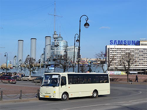 Автобусы АТАМАН А092G6 на газу проходят тесты - АТАМАН