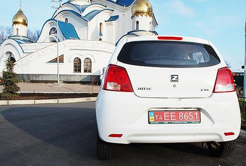 Zotye Z100 заменит на украинском рынке самый доступный автомобиль