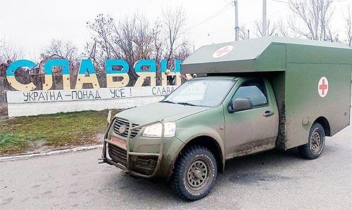 Санитарный автомобиль Богдан 2251 уже помогает спасать жизни бойцов - Богдан
