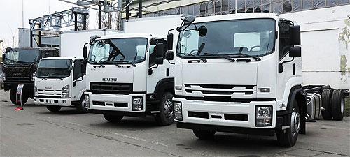 На грузовые автомобили ISUZU действует специальное предложение - ISUZU