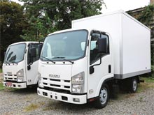 Isuzu в Украине предлагает ряд развозных городских грузовиков