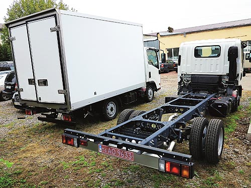 Isuzu в Украине предлагает ряд развозных городских грузовиков - Isuzu