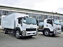 ISUZU - грузовики на все случаи жизни
