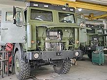 Как бронируют армейские Богдан-МАЗы. Фото