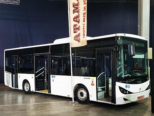 В Черкассах начнут выпускать две модели больших автобусов