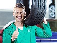 Ebay начал продавать шины сразу с шиномонтажем