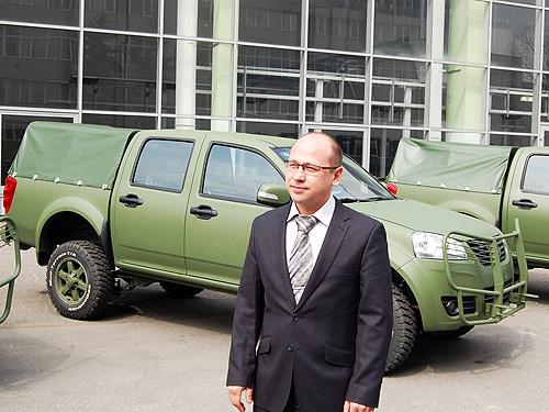 В Украине представили армейский внедорожник для замены УАЗов - Богдан