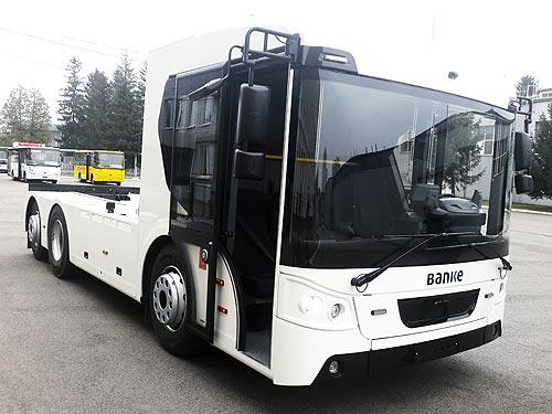 Украинский производитель запатентовал электрический грузовик