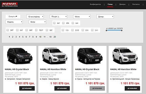Автомобили HAVAL теперь можно заказывать со склада онлайн