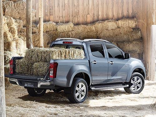 На украинский рынок вышел новый пикап ISUZU D-MAX. Подробности о новинке - ISUZU