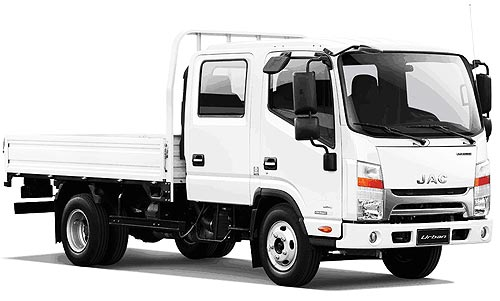 В чем преимущества легких грузовиков JAC N56