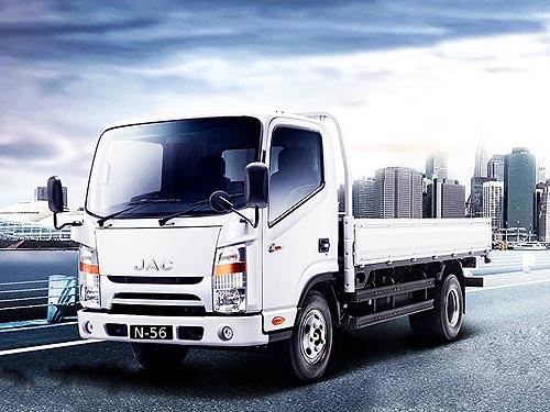 В Украине зафиксированы специальные цены на среднетоннажные грузовики JAC N56